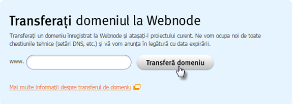 Transfer domeniu