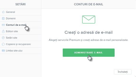Schimbați parola contului de e-mail