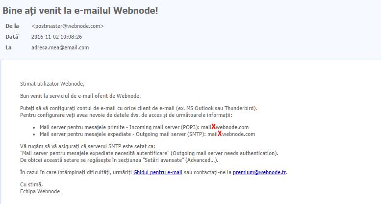 E-mail cu Windows Phone