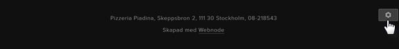 Hur du använder redigeraren i Webnode 2.0
