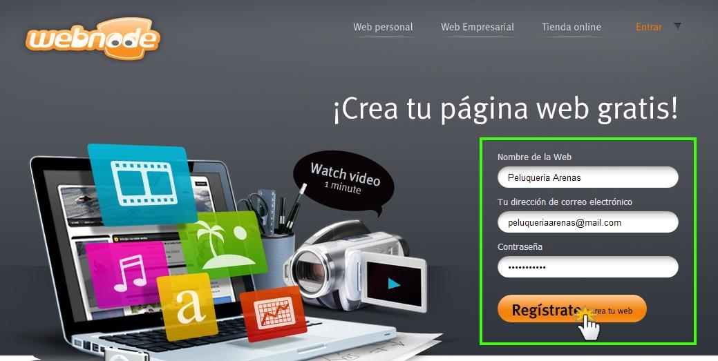 Webnode Manual Para Crear Una Web Con Webnode