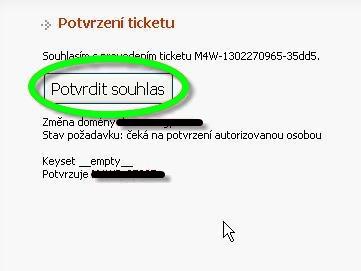 Převést .cz doménu k Webnode