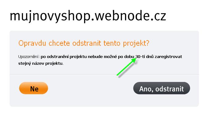Proč nemohu využít stejné jméno pro můj nový web?