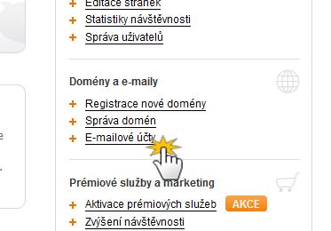 Jak vytvořit vlastní e-mail