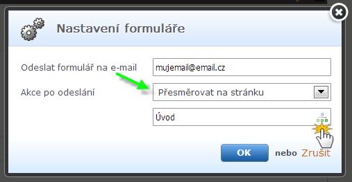 Správa formulářů
