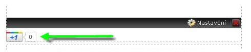 Vložení tlačítka Google +1