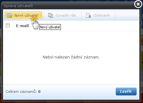 Přístup na web pod heslem