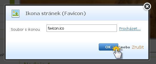 Vložit ikonu stránky (faviconu)
