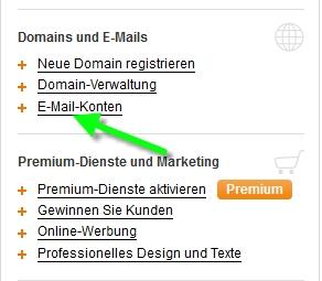 Email umleiten