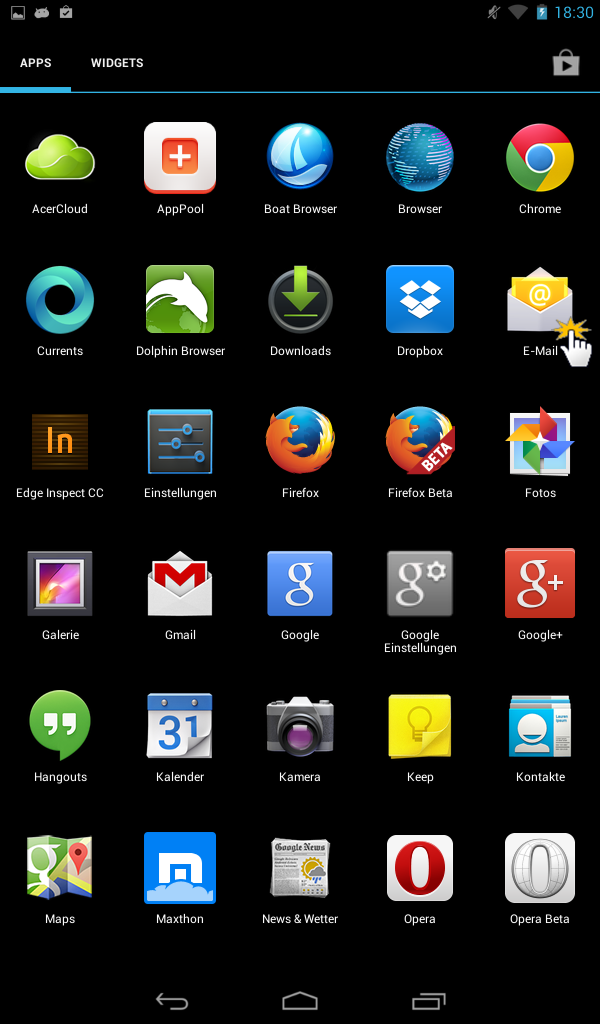 Android E-Mail