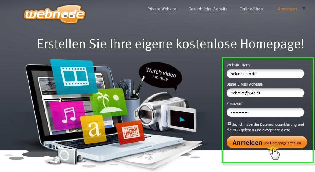Webnode Anleitung Für Die Erstellung Von Webnode Webseiten