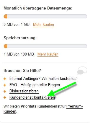 Webnode Anmelde E Mail Adresse ändern