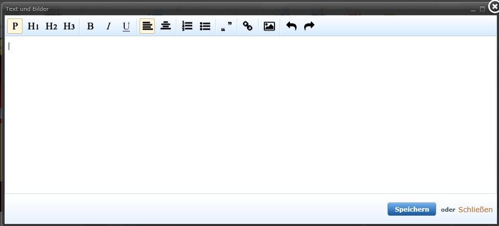 Texteditor für IE11