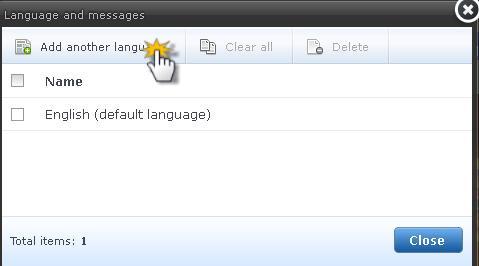Multilingual site