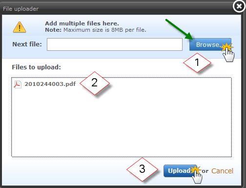 Webnode - Inserting a File for Download