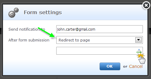 Add a contact form
