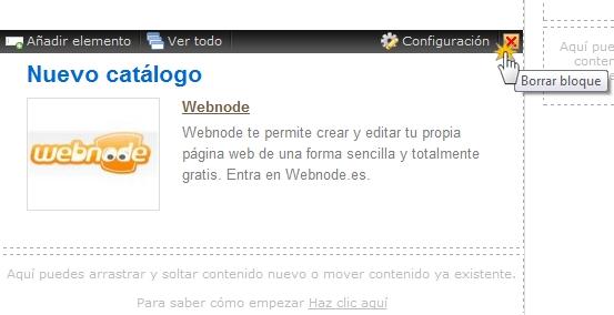 Configurar catálogo