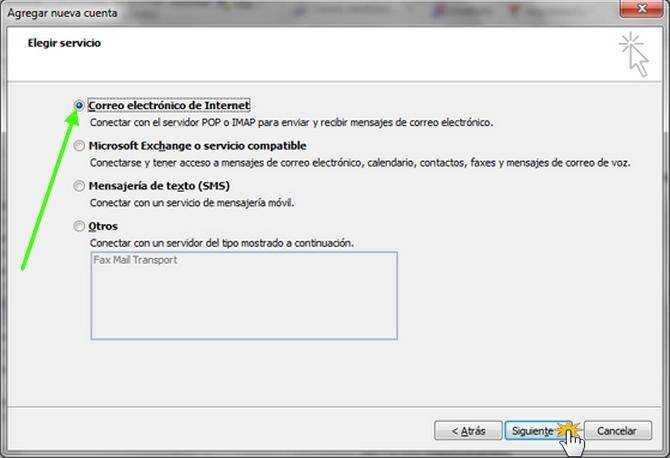 Configurar Outlook
