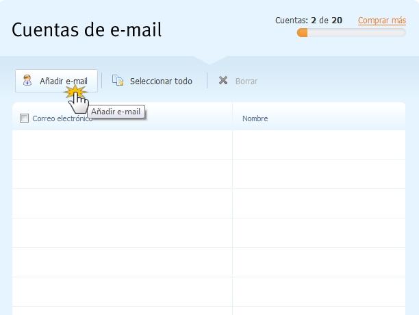 Nuevo e-mail