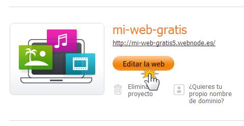 Editar la web