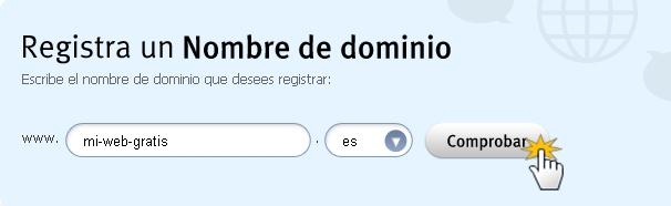 Webnode - ¿Cómo registrar tu propio dominio?