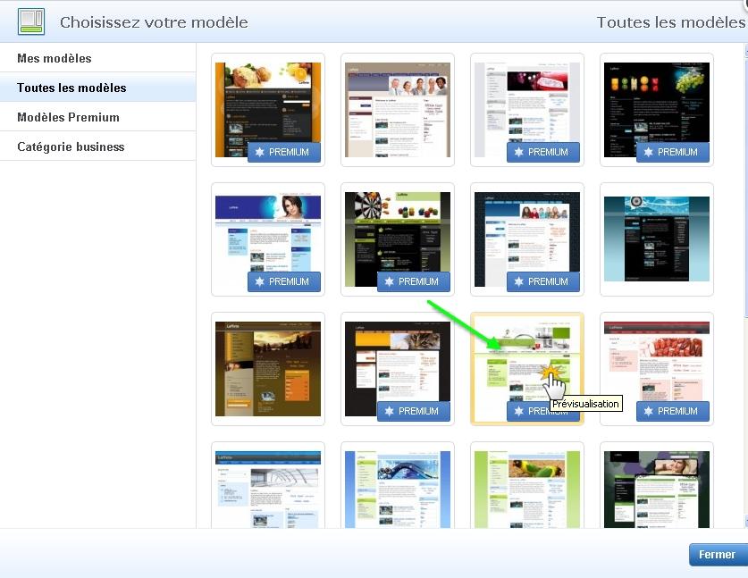 Webnode Changer Le Modele De Site