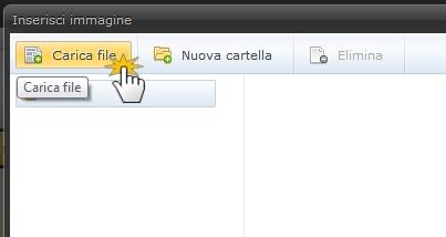 Inserire un file flash
