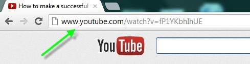 YouTubeビデオを表示したい