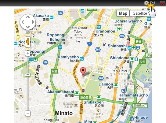 地図を表示したい