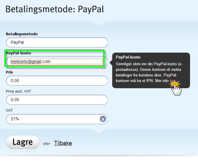 Konto paypal