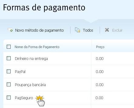 Configure PagSeguro na sua loja virtual