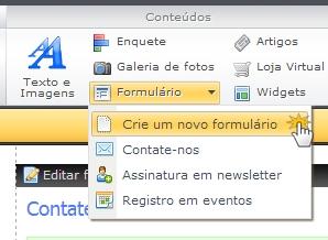 b84fea1d4e64f Pode colocar um novo item no formulário facilmente se arrastar e soltar o  ícone da barra de ferramentas ao campo
