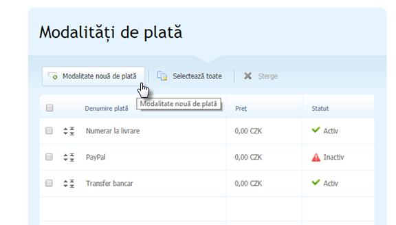 Cum să setați plăți prin card bancar cu ajutorul portalului de plăți GP WebPay