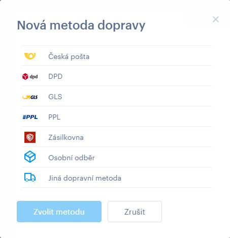 Nová platební metoda