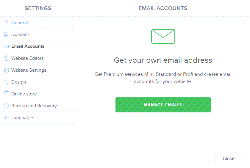 Manage Emails