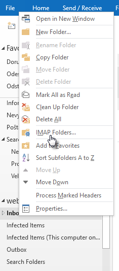 IMAP mapper