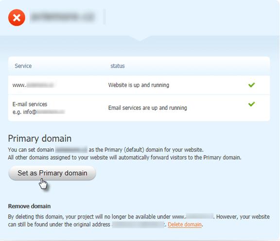 Как назначить домен при помощи записей DNS