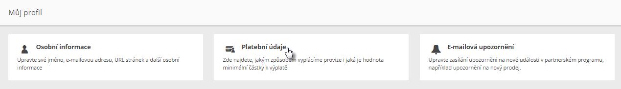 Webnode affiliate program - jak získat provize